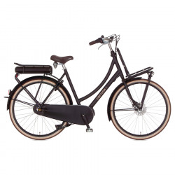 """Vélo hollandais électrique ville CORTINA E-U4 8v Batterie 300Wh 28"""" M/50 (de 1m65 à 1m77) Bas jusqu'à 140km"""