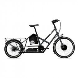 Vélo électrique longtail BIKE43 One Gris Anthracite