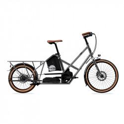 Vélo électrique longtail BIKE43 Performance Chrome