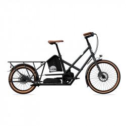 Vélo électrique longtail BIKE43 Performance Gris Anthracite