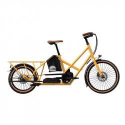Vélo électrique longtail BIKE43 Performance Jaune Taxi
