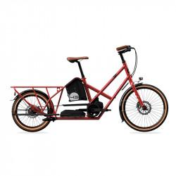 Vélo électrique longtail BIKE43 Performance Rouge Lava
