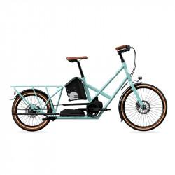 Vélo électrique longtail BIKE43 Performance Turquoise Brillant
