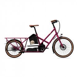 Vélo électrique longtail BIKE43 Performance Violet Métal