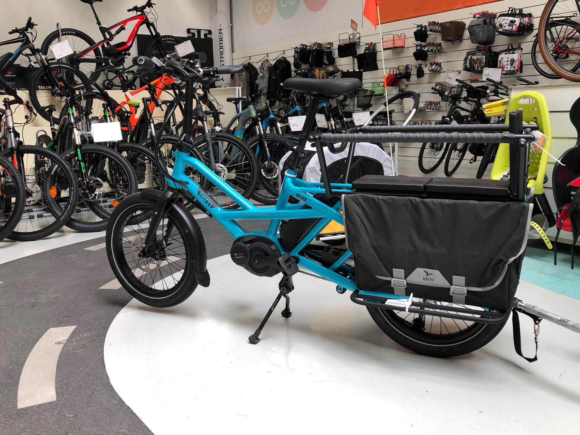 Altermove Cergy Pontoise - Tern GSD - Velo electrique Paris