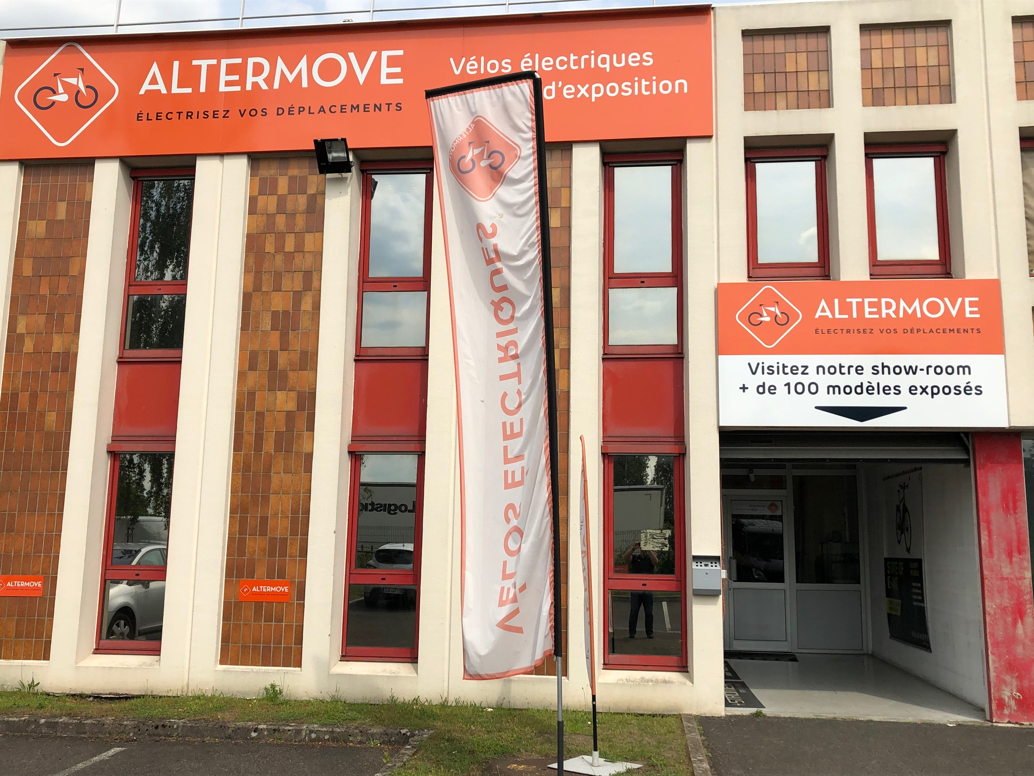 Altermove Cergy Pontoise- velo electrique Paris- Ile de France