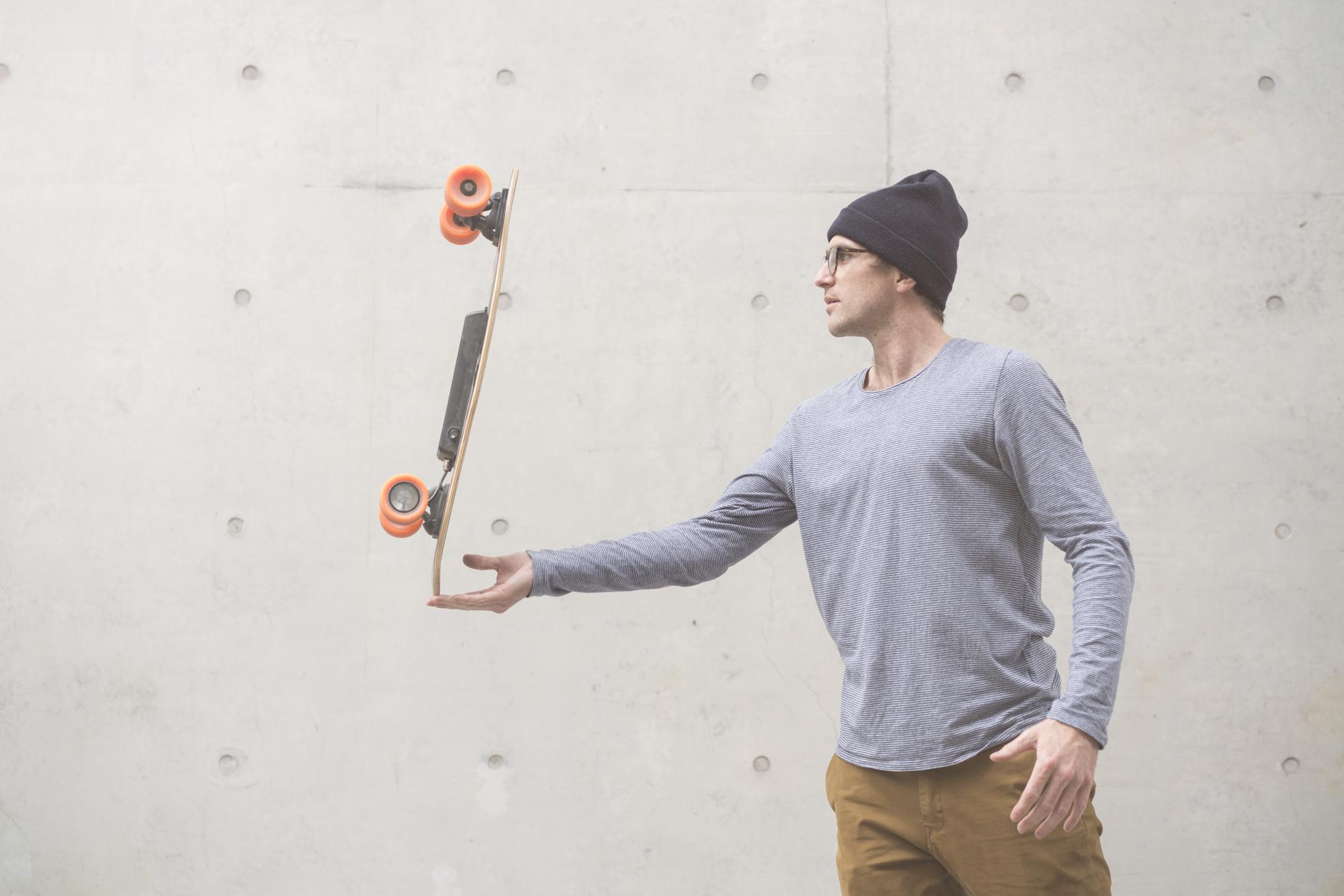 Skate électrique Elwing E1 utilisation