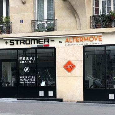 photo magasin stromer à Paris 15