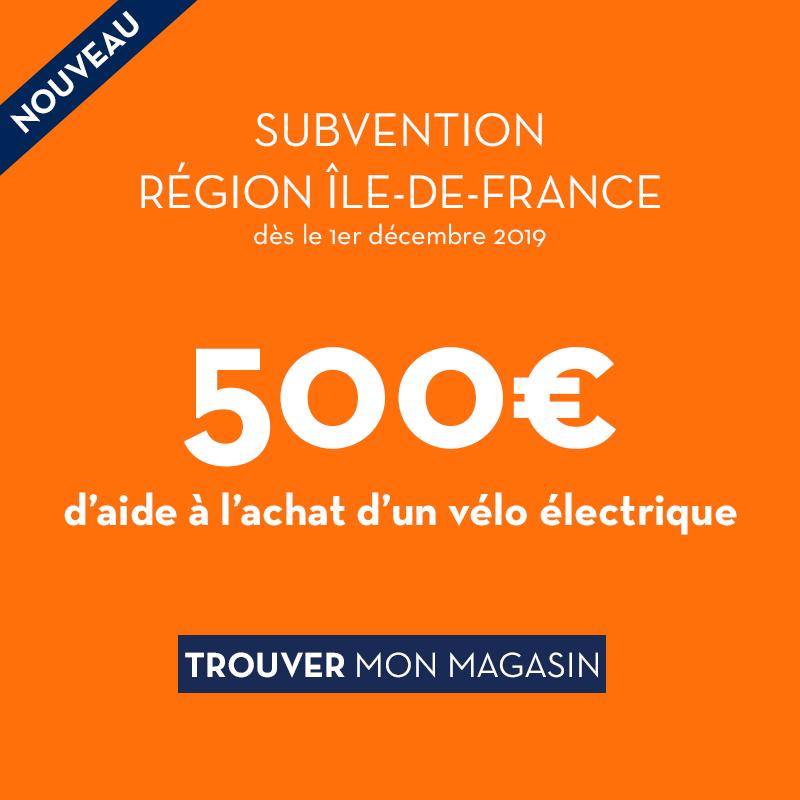 prime subvention velo electrique paris