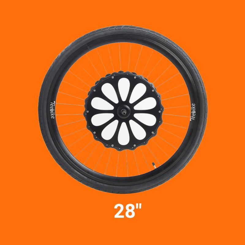 roue teebike 28 pouces